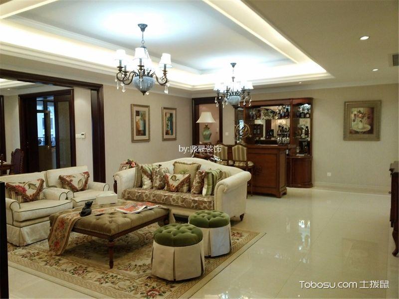 客厅 沙发_金地格林小城136平方欧式风格装修效果图
