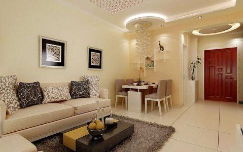 中海国际180平方别墅欧式风格装修效果图