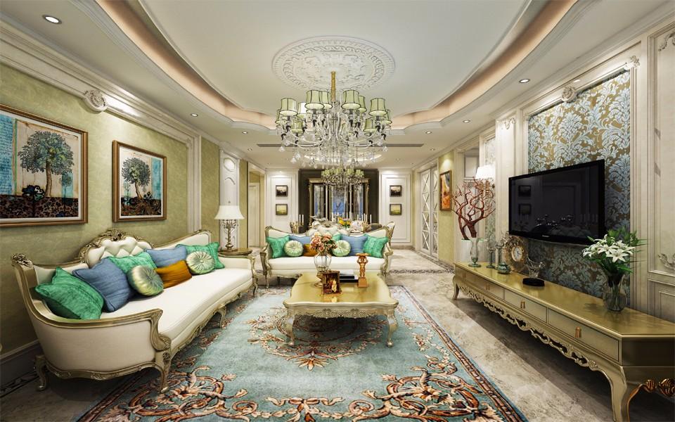 3室2卫2厅146平米法式风格