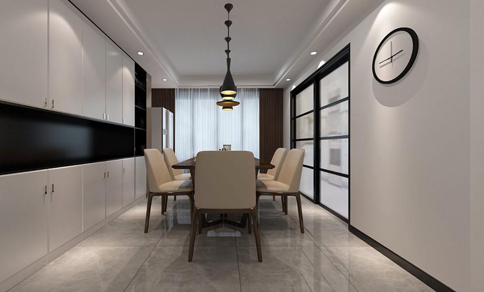 4室2卫2厅132平米现代风格