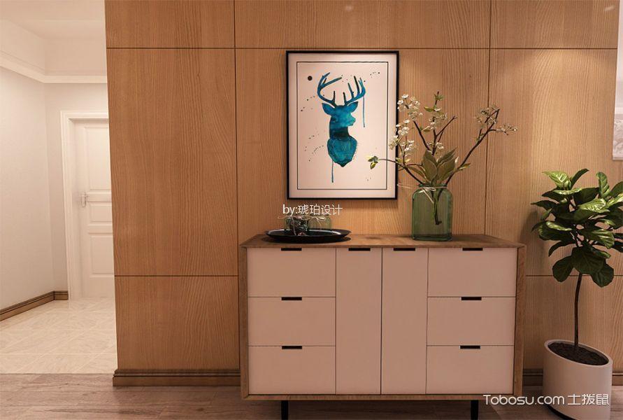 和平国际116㎡北欧风格两居室装修效果图
