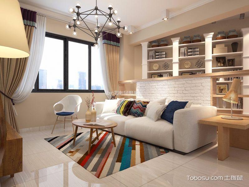 2019韩式80平米设计图片 2019韩式二居室装修设计