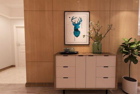 和平国际116平米北欧风格两居室装修效果图