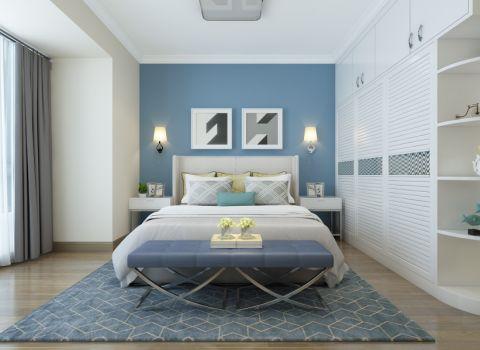 2021现代简约110平米装修图片 2021现代简约三居室装修设计图片