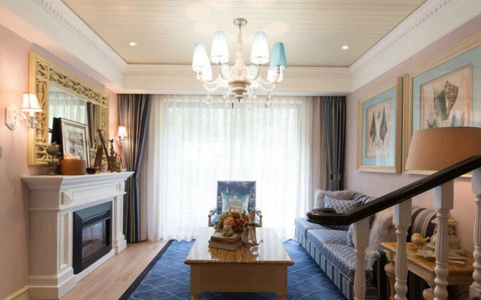 3室1卫2厅110平米美式风格