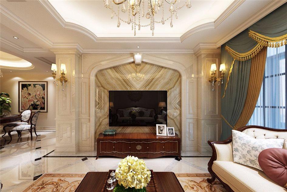 3室2卫2厅105平米欧式风格