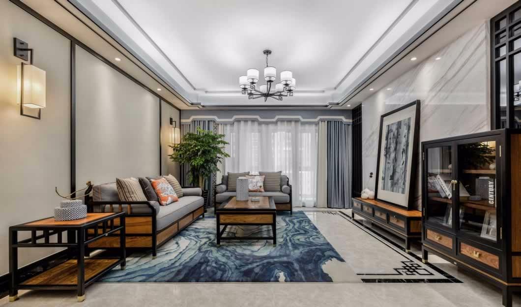 3室1卫2厅108平米中式风格