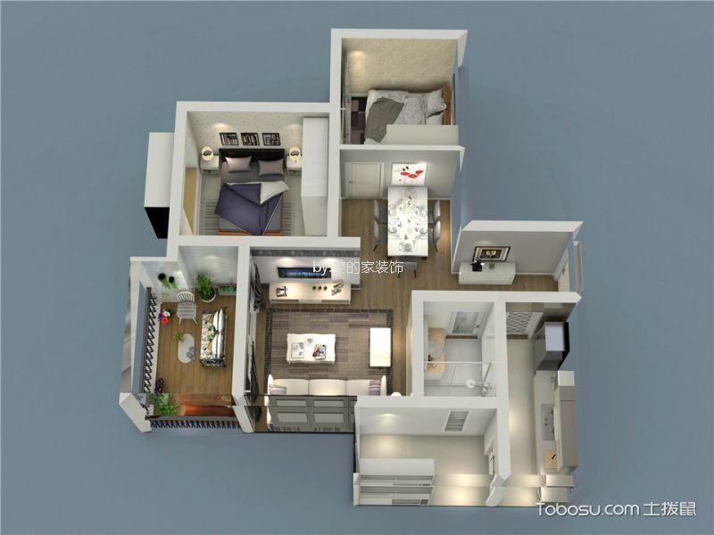 5万金科时代中心74平台式现代简约装修效果图