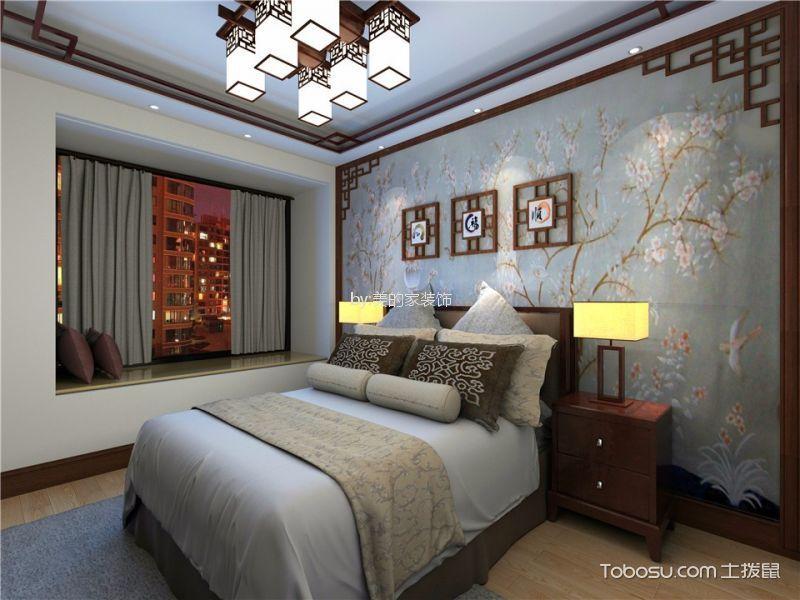 重庆金科时代中心90平米新中式风格效果图
