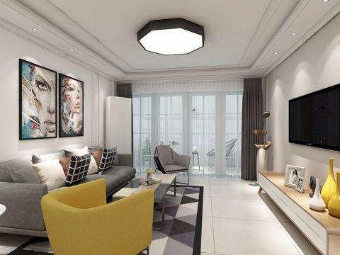 2019简约70平米装修效果图大全 2019简约二居室装修设计