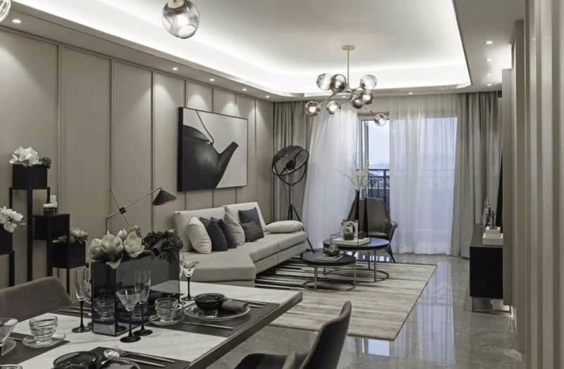 2室1卫2厅84平米现代风格