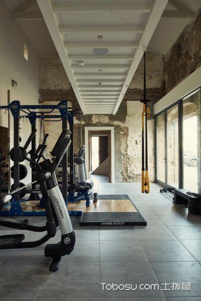 2020北歐健身房裝修圖 2020北歐健身房圖片