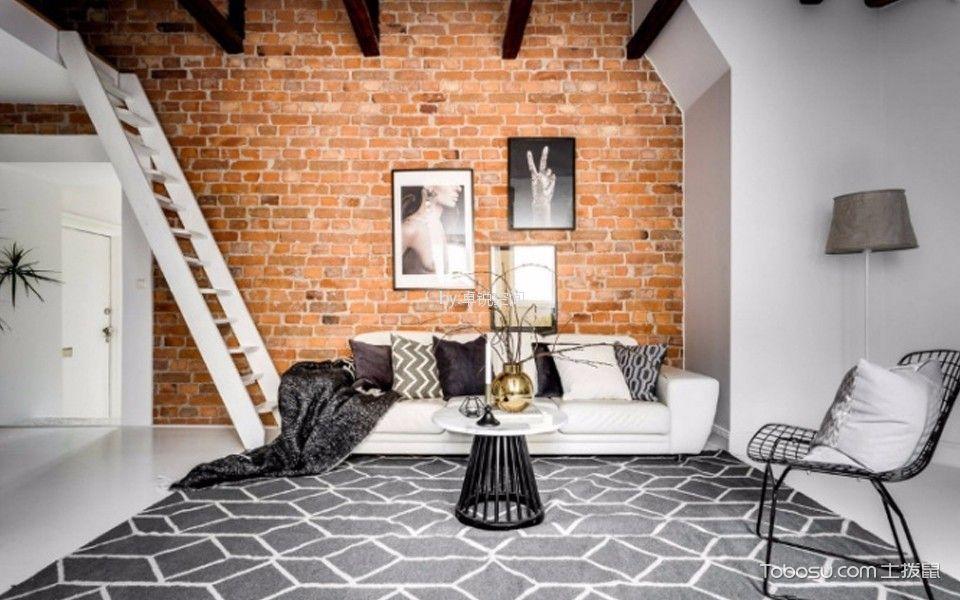 今日家园206平方米复式北欧风格装修效果图