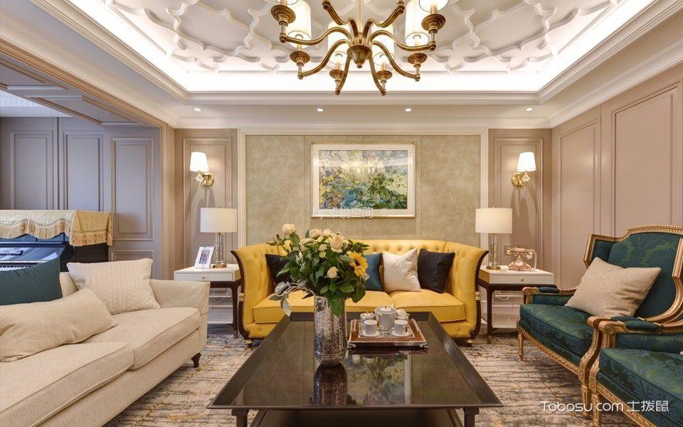 富润家园328平方米大户型欧式风格装修效果图