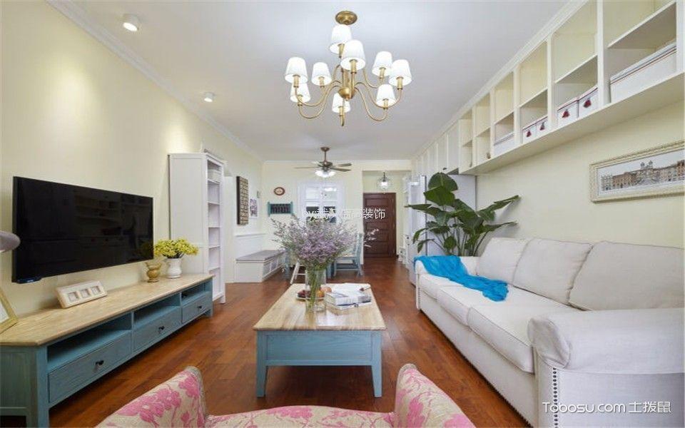 联投金色港湾98平米简约风格二居室装修效果图