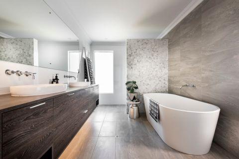 浴室北欧风格效果图大全2017图片_土拨鼠大气摩登浴室北欧风格装修设计效果图欣赏