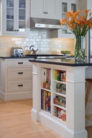 厨房简欧风格效果图大全2017图片_土拨鼠豪华奢华厨房简欧风格装修设计效果图欣赏