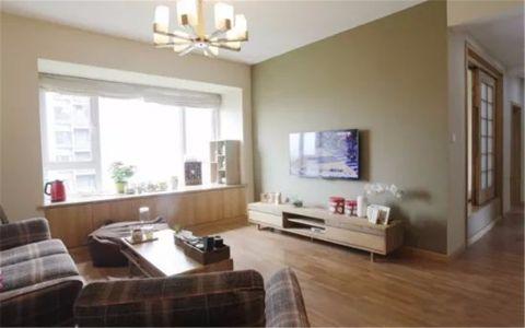 滨海橙里92平米日式风格三居室装修效果图