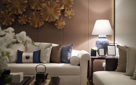 富海中心79平米公寓简中风格装修效果图