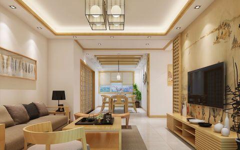 2019日式150平米效果图 2019日式二居室装修设计