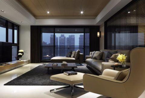 简约风格110平米小户型室内装修效果图