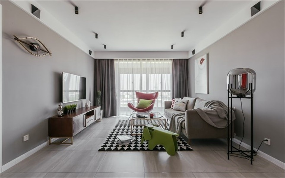 2室1卫1厅99平米北欧风格
