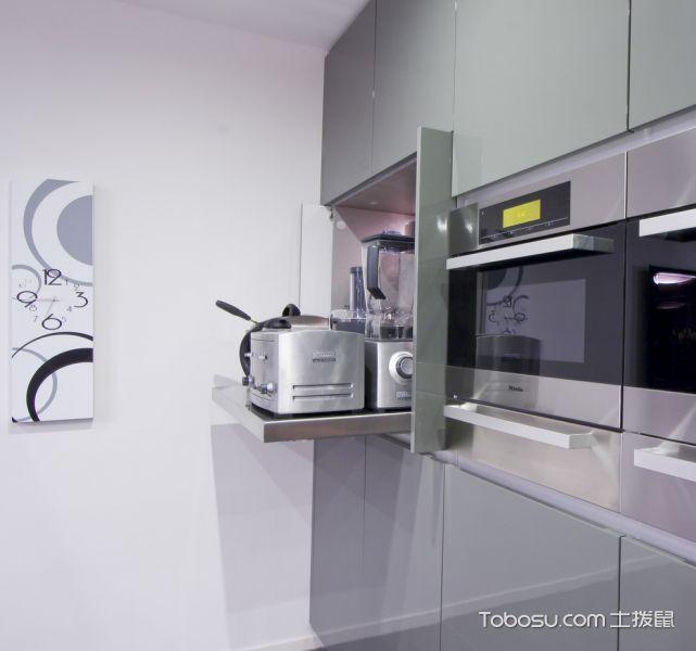 厨房灰色细节现代风格装饰图片