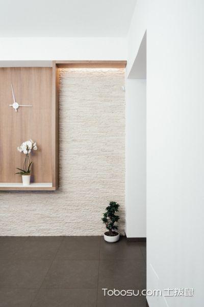 卧室米色地砖现代风格装饰图片