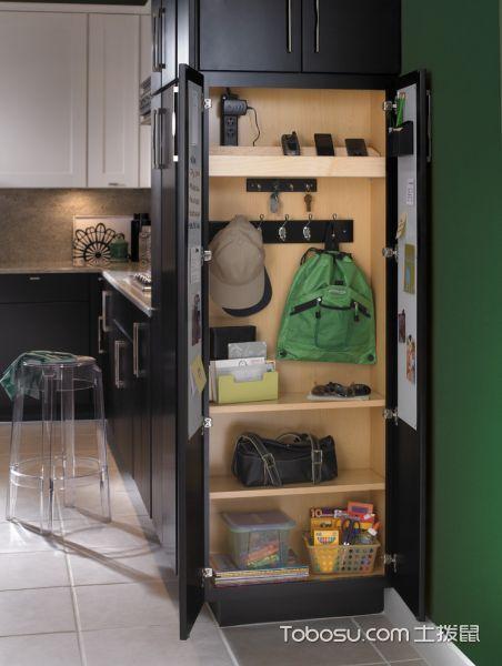 厨房黄色细节混搭风格装修设计图片