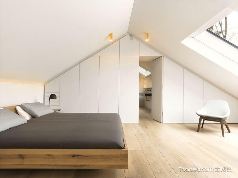 2019北欧卧室装修设计图片 2019北欧隐形门装修图