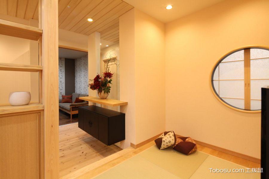 儿童房米色榻榻米日式风格装饰设计图片