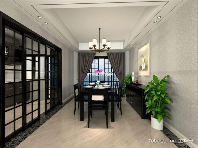 重庆璧山绿岛中心116平米现代简约风格效果图