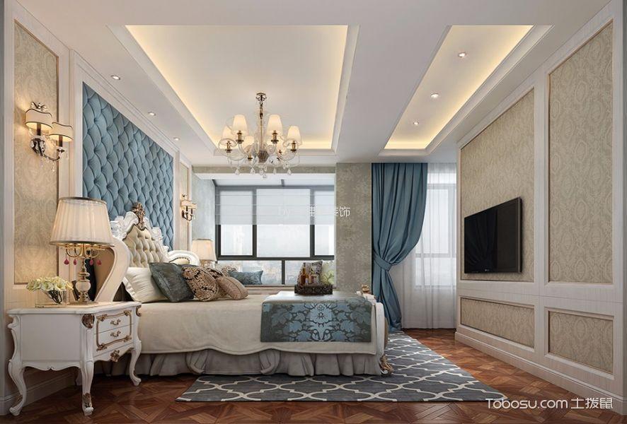 欧式风格180平米跃层新房装修效果图