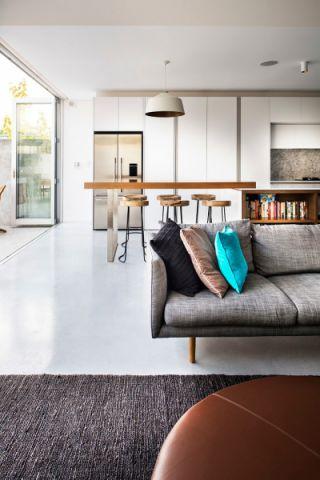 厨房现代风格效果图大全2017图片_土拨鼠古朴创意厨房现代风格装修设计效果图欣赏