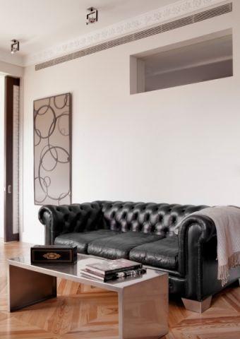 客厅北欧风格效果图大全2017图片_土拨鼠简约质朴客厅北欧风格装修设计效果图欣赏