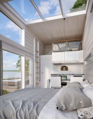 卧室北欧风格效果图大全2017图片_土拨鼠个性温馨卧室北欧风格装修设计效果图欣赏