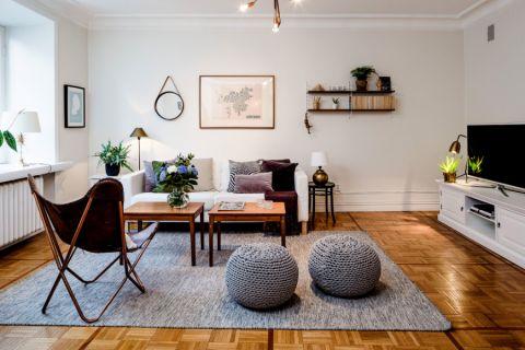 客厅北欧风格效果图大全2017图片_土拨鼠美感富丽客厅北欧风格装修设计效果图欣赏