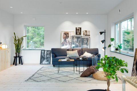 客厅北欧风格效果图大全2017图片_土拨鼠简约时尚客厅北欧风格装修设计效果图欣赏