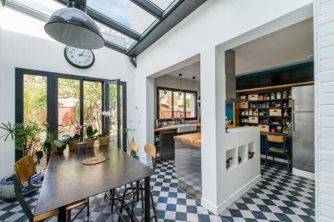 厨房北欧风格效果图大全2017图片_土拨鼠古朴富丽厨房北欧风格装修设计效果图欣赏