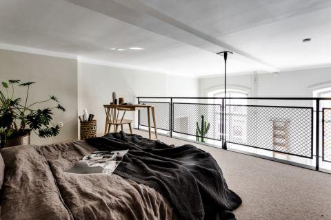 卧室北欧风格效果图大全2017图片_土拨鼠温馨雅致卧室北欧风格装修设计效果图欣赏