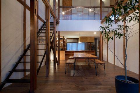 客厅日式风格效果图大全2017图片_土拨鼠浪漫优雅客厅日式风格装修设计效果图欣赏