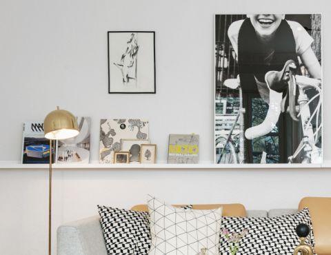 客厅北欧风格效果图大全2017图片_土拨鼠温暖摩登客厅北欧风格装修设计效果图欣赏