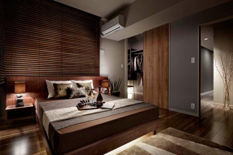 卧室日式风格效果图大全2017图片_土拨鼠极致摩登卧室日式风格装修设计效果图欣赏