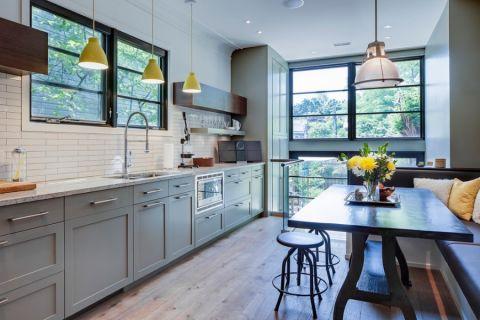 厨房简欧风格效果图大全2017图片_土拨鼠古朴淡雅厨房简欧风格装修设计效果图欣赏