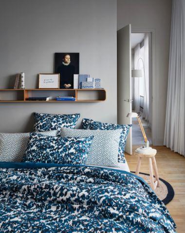卧室北欧风格效果图大全2017图片_土拨鼠潮流摩登卧室北欧风格装修设计效果图欣赏