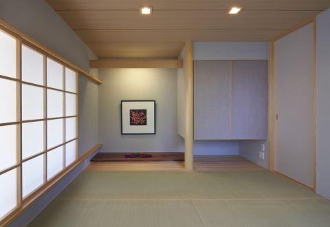 客厅日式风格效果图大全2017图片_土拨鼠潮流纯净客厅日式风格装修设计效果图欣赏
