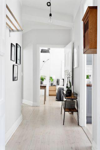 走廊北欧风格效果图大全2017图片_土拨鼠奢华纯净走廊北欧风格装修设计效果图欣赏