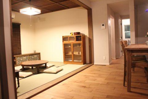 客厅日式风格效果图大全2017图片_土拨鼠大气清新客厅日式风格装修设计效果图欣赏