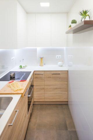 厨房北欧风格效果图大全2017图片_土拨鼠休闲迷人厨房北欧风格装修设计效果图欣赏