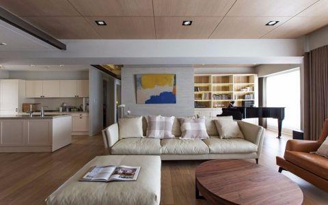 现代风格90平米小户型室内装修效果图